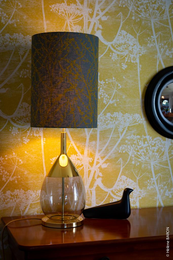 Décoration d'une maison de charme à Pontivy par Anne Solenn Chérat, Décoratrice UFDI sur Lorient, Vannes, Pontivy.