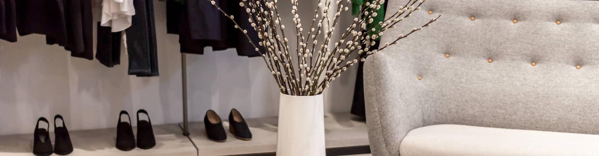 décoration boutique prêt-à-porter à LORIENT QUIMPER PONTIVY VANNES ET EN BRETAGNE SUD
