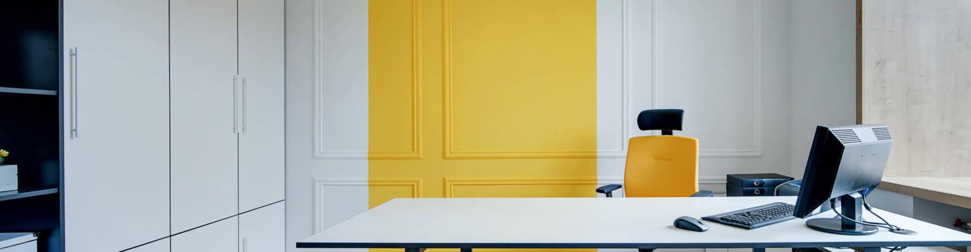 Décoration bureau office notarial par Anne Solenn Chérat, Décoratrice UFDI sur Lorient, Vannes, Pontivy