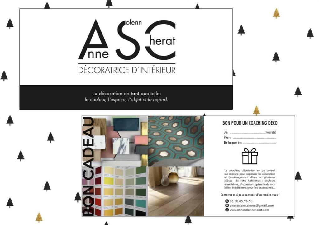Bon cadeau pour conseils en Décoration par Anne-Solenn CHERAT, Décoratrice UFDI à Lorient, Pontivy, Vannes et en Morbihan 56