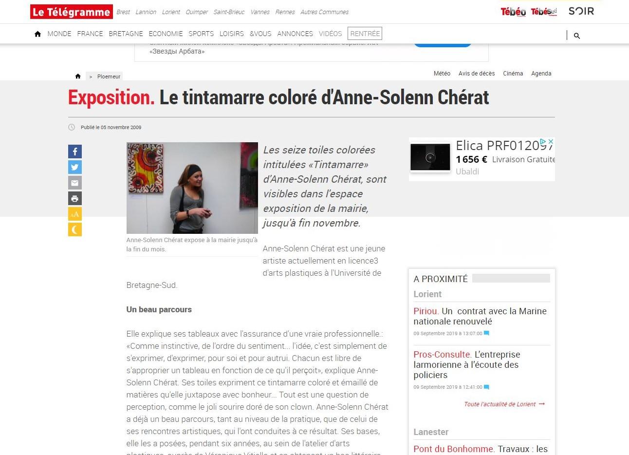 Exposition Le Tintamarre coloré d'ASC